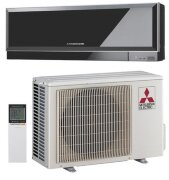 Mitsubishi Electric MSZ-EF25VE/MUZ-EF25VE Inverter (Black)